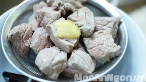 Cách làm món bò kho gừng 5