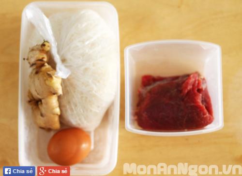 Cách làm món trứng cuộn thịt bò 1