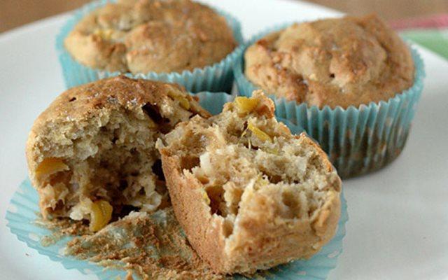 Ăn sáng ngon với bánh muffin xoài cực đã