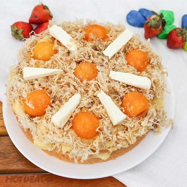 Công thức làm bánh bông lan trứng muối thơm ngon tại nhà
