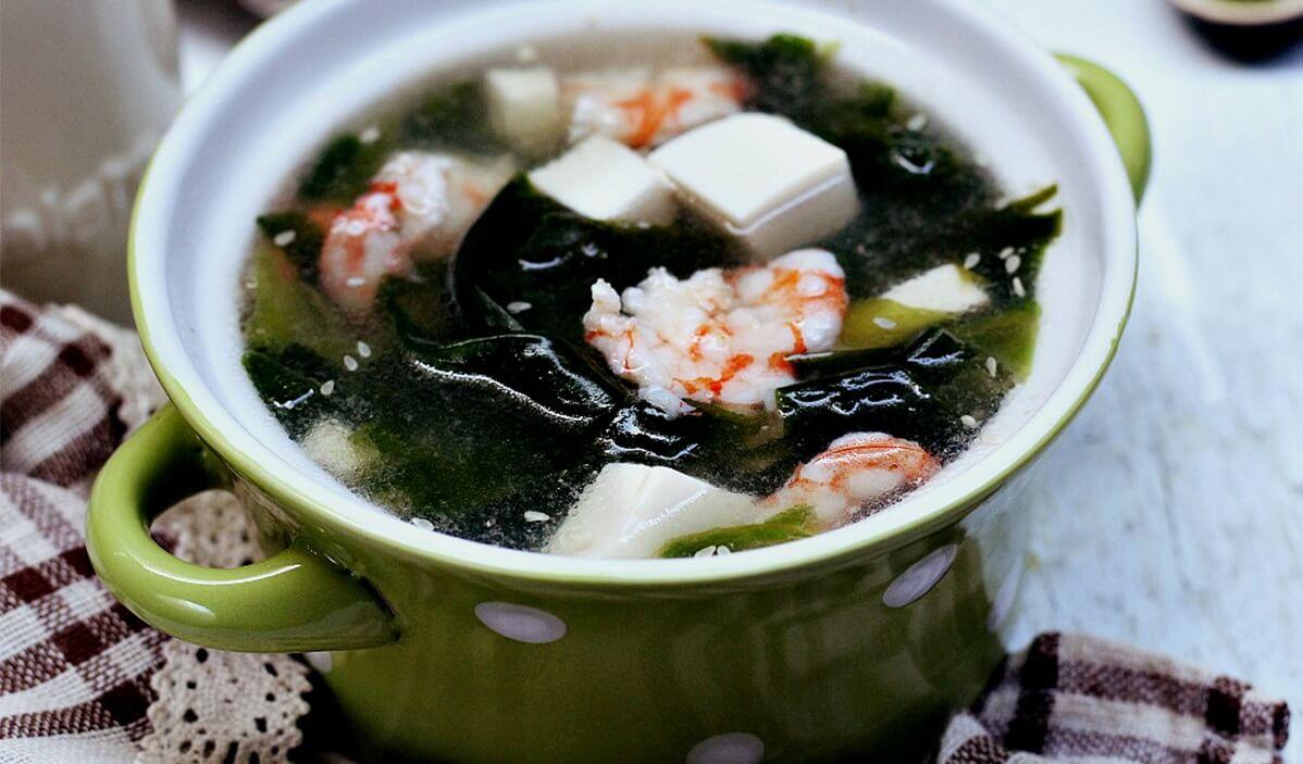 Canh đậu hũ rong biển mát lành ngon cơm