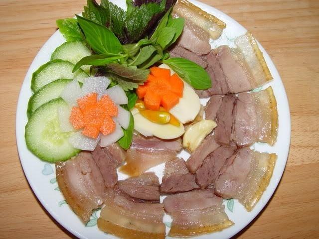 Cách làm thịt heo ngâm mắm ăn dần