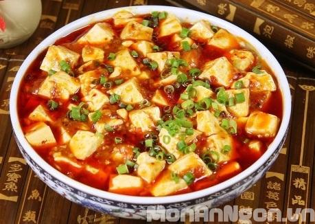Cách làm món đậu phụ Tứ Xuyên trứ danh