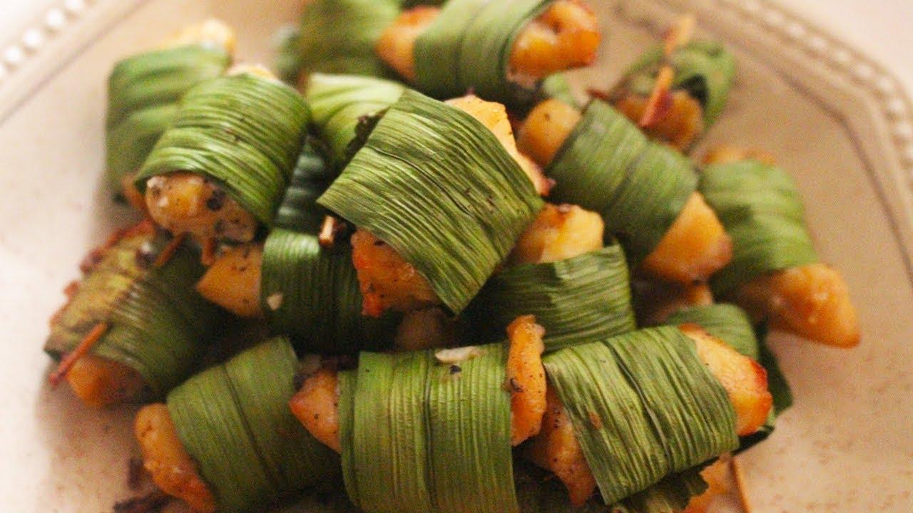 Gà cuộn lá dứa – mềm thơm tuyệt đỉnh