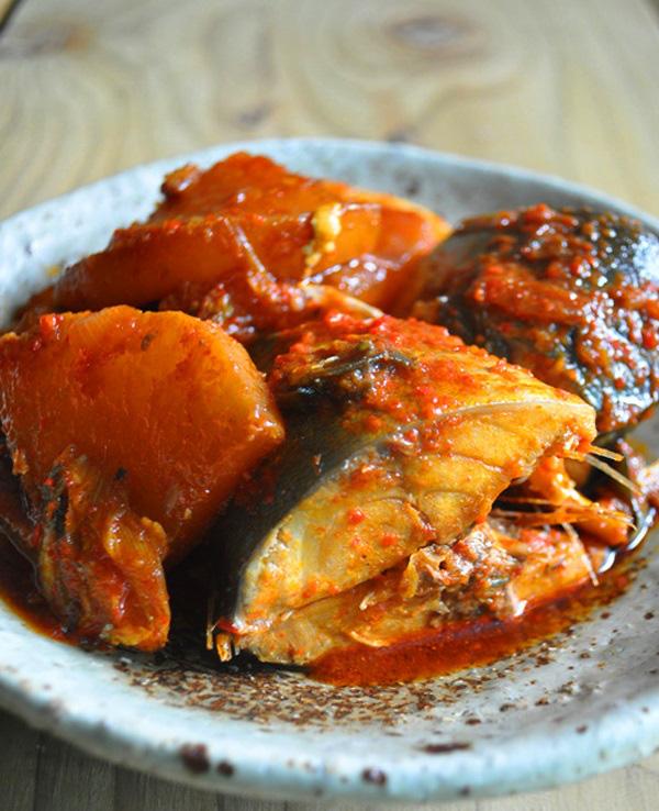 Cá kho kiều Hàn Quốc