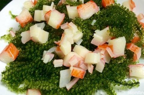 Giải nhiệt với: Salad sò điệp, cá sốt dầu hào và salad rong nho