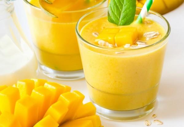 Cách làm sinh tố xoài thơm ngon, bổ dưỡng, giải nhiệt ngày hè