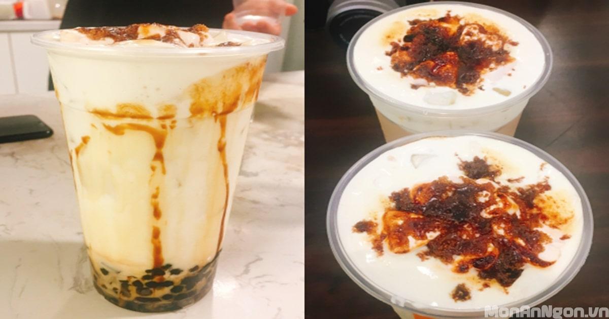 Hướng dẫn làm trà sữa nướng thơm ngon ngay tại nhà