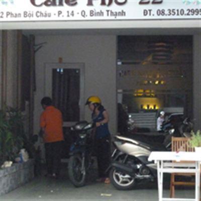 Phố 22 Cafe – Phan Bội Châu