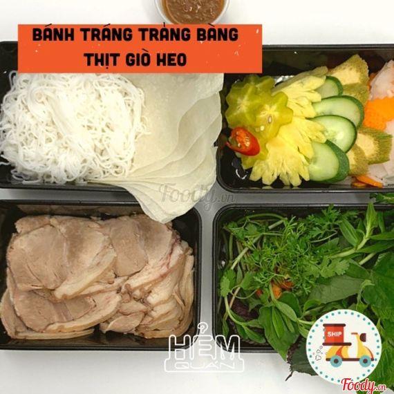 Bánh Tráng Trảng Bàng Thịt Giò Heo