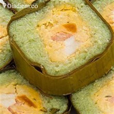 Bánh Tét Trà Cuôn Cô Hường