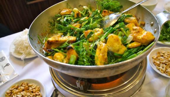 Chả cá Anh Vũ đặc – Món ăn đặc sản tiến vua xưa