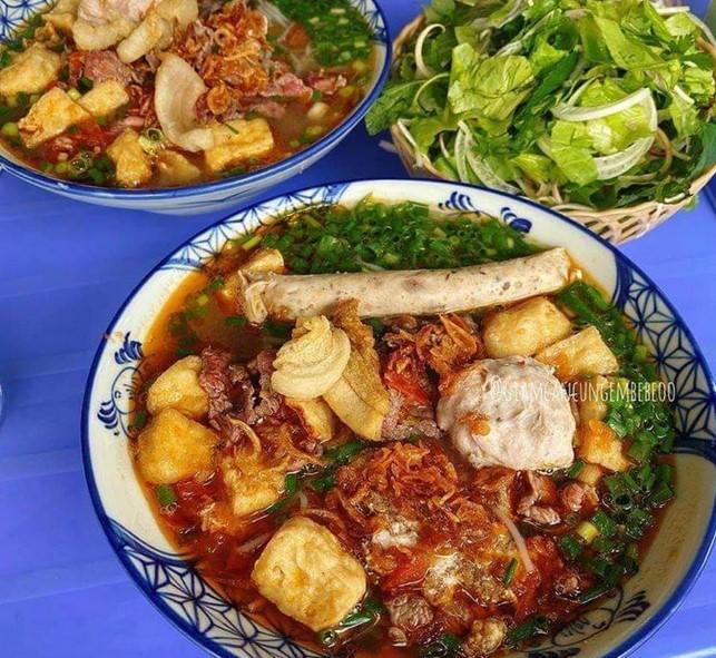 Top 20 quán bún riêu ngon nhất ở Hà Nội
