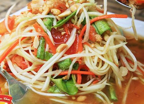 """Cách làm gỏi đu đủ Thái Lan đơn giản nhất ăn là """"ghiền"""""""