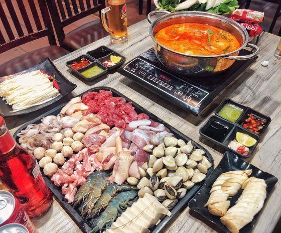 Top 10 quán lẩu ngon rẻ ở thành phố Vinh