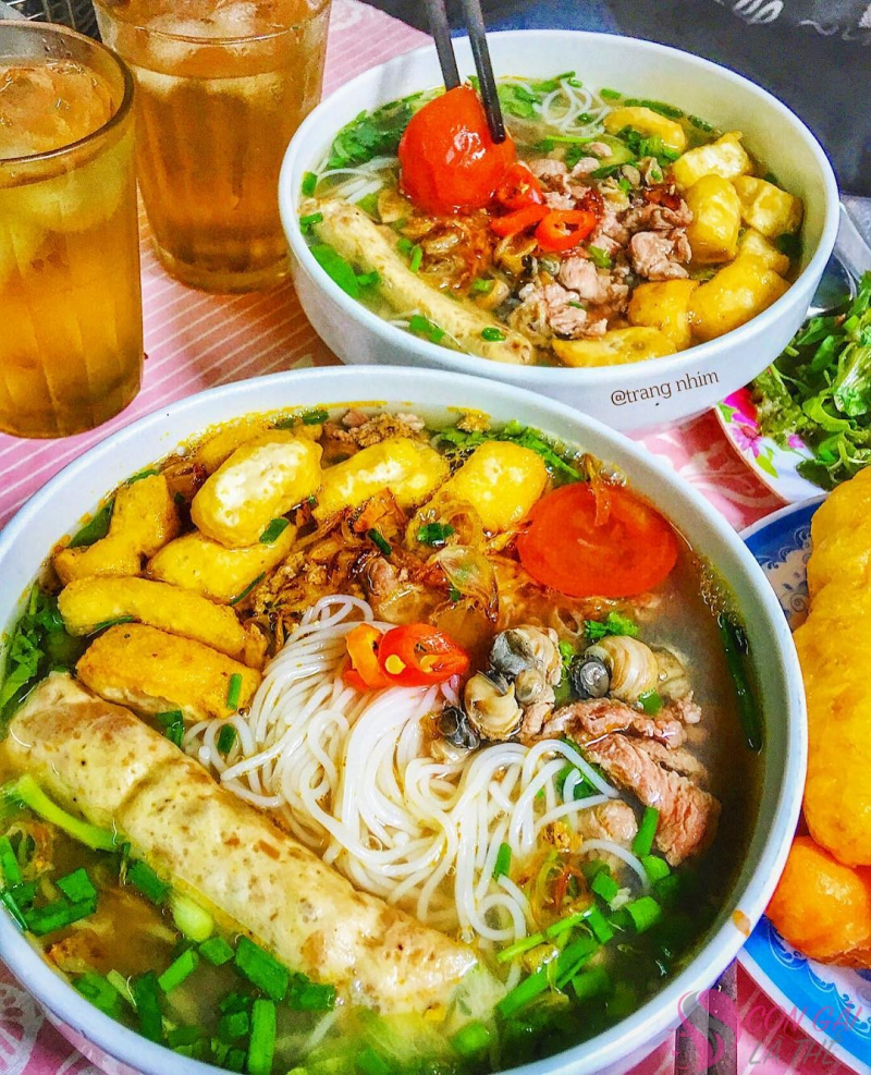Đắm chìm vị giác cùng Top 9 quán bún riêu nổi tiếng nhất Sài Gòn