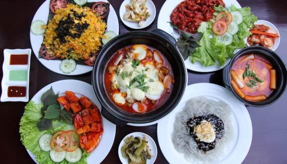 Tổng hợp những quán ăn mang phong cách Hàn Quốc tại Huế