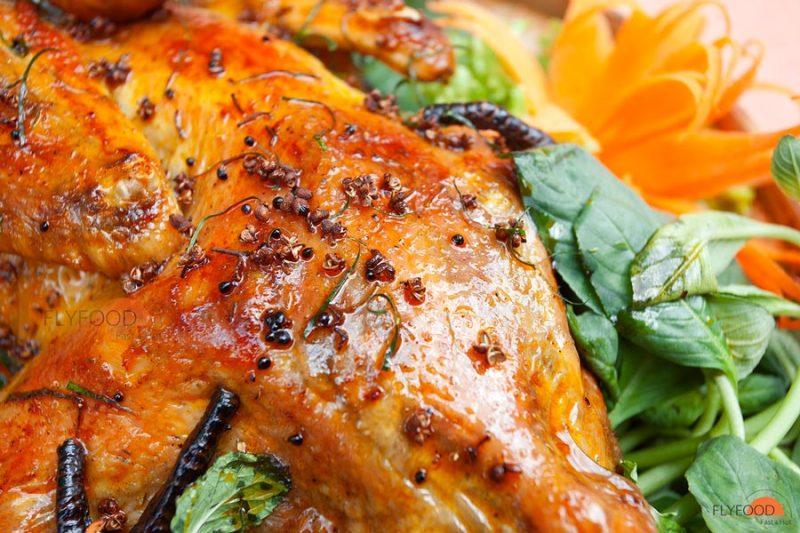 Cách làm gà nướng Kon Plông hương vị Tây Nguyên